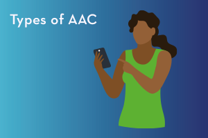 Types of alternative and augmentative communication (AAC)